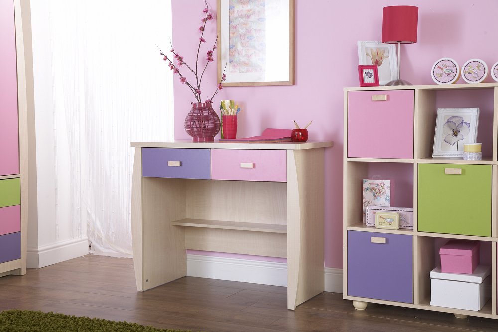 Sydney 2 drawer desk bf beds leeds cheap beds leeds for Affordable bedroom furniture sydney