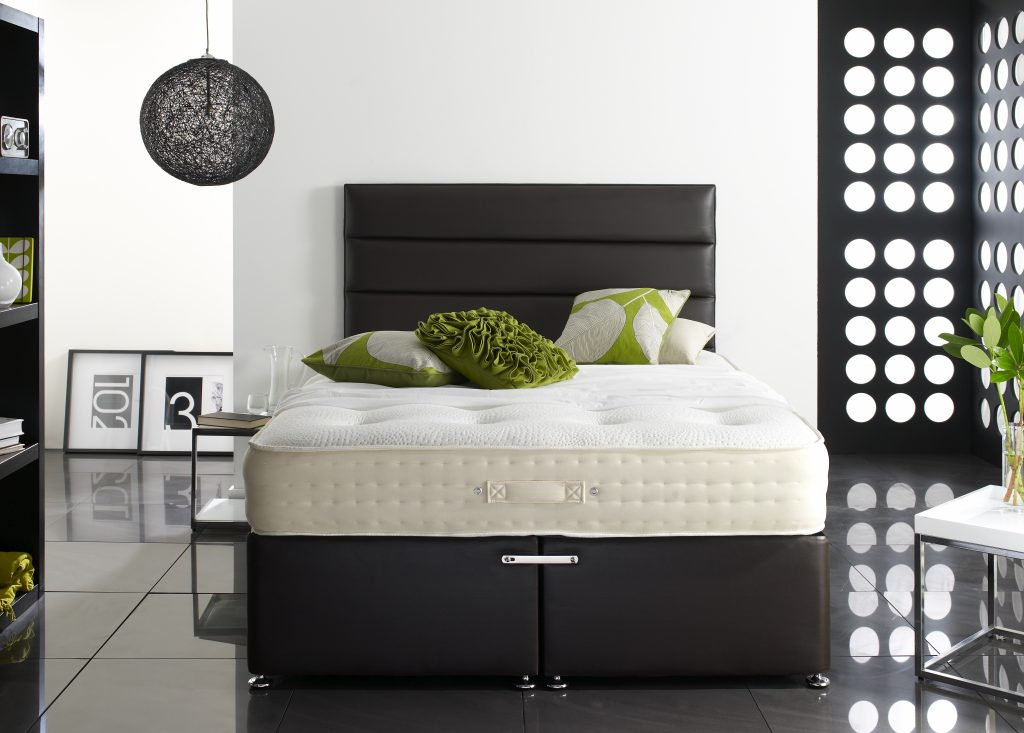Deluxe divan bed bf beds leeds cheap beds leeds for Cheap king size divan beds with storage