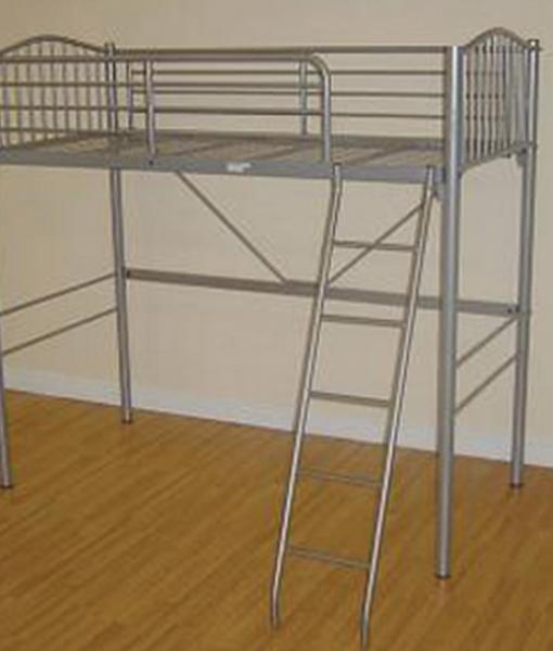 Metal loft sleeper bed frame bf beds leeds cheap beds leeds - Cheap childrens bed frames ...