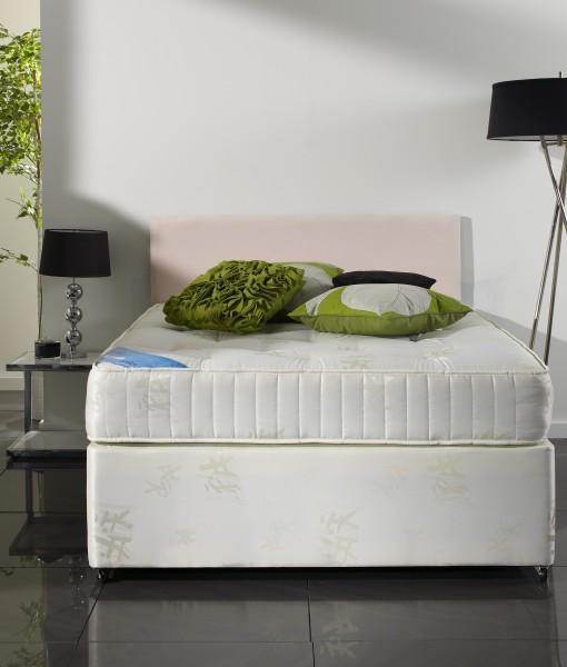 Apollo orthomedic divan bed bf beds leeds cheap beds leeds for Cheap small double divan beds with storage