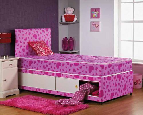 Girls Love Heart Shorty Bed Bf Beds Leeds Cheap Beds Leeds