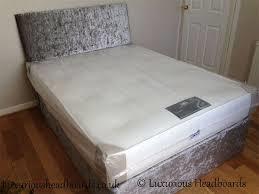 befa74622de4 Crushed Velvet Divan Bed plus Headboard/Mattress - BF Beds Leeds
