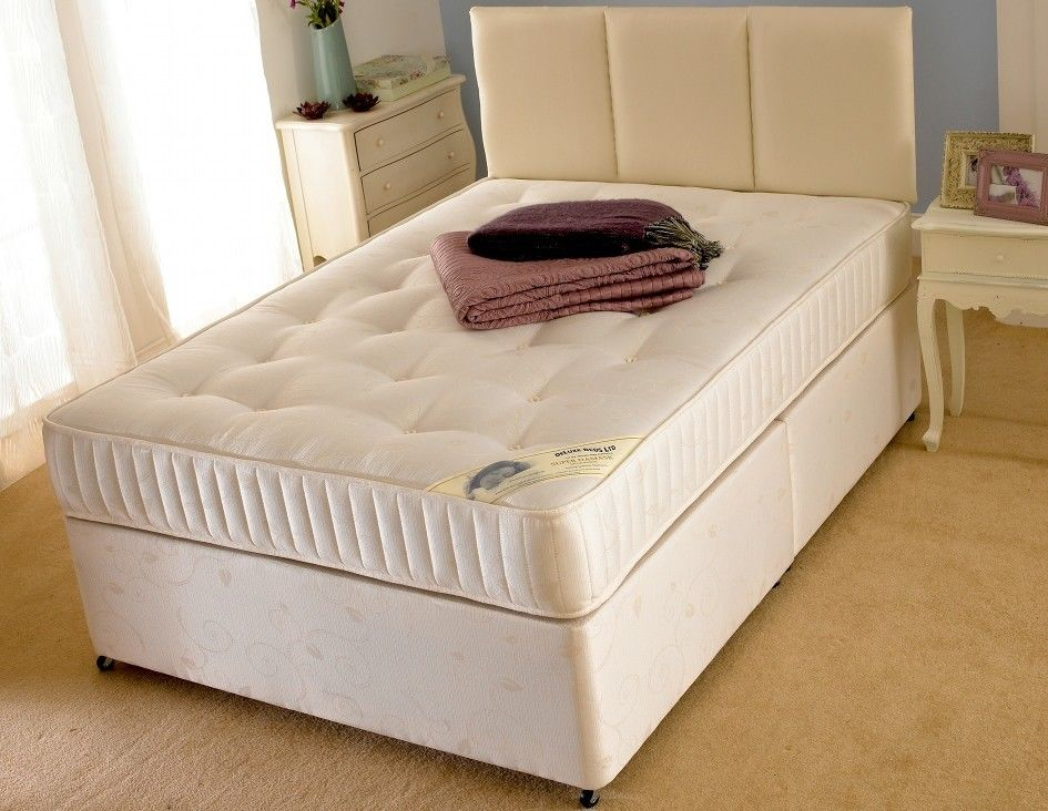 Supreme plus divan bf beds leeds cheap beds leeds for Cheap single divan