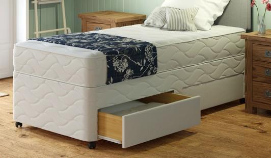Westfield orthopaedic divan bf beds leeds cheap beds leeds for Cheap divan double beds with storage