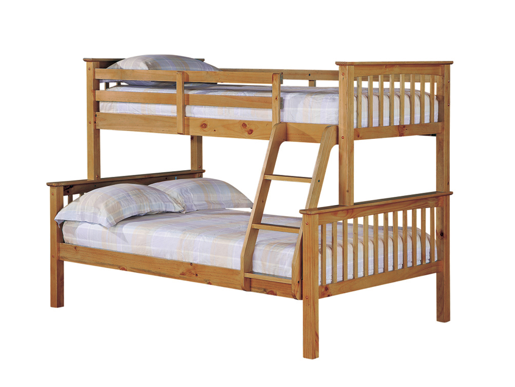 Otto Trio Wooden Bunk Beds Bf Beds Cheap Beds Leeds