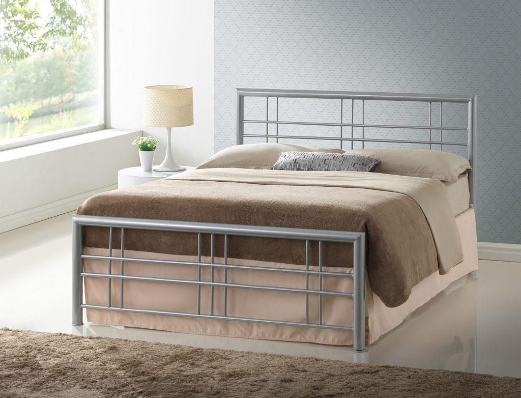 Paxos Metal Bed Frame Bf Beds Leeds Cheap Beds Leeds