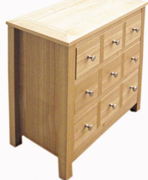 oakwood lpd multi drawer chest