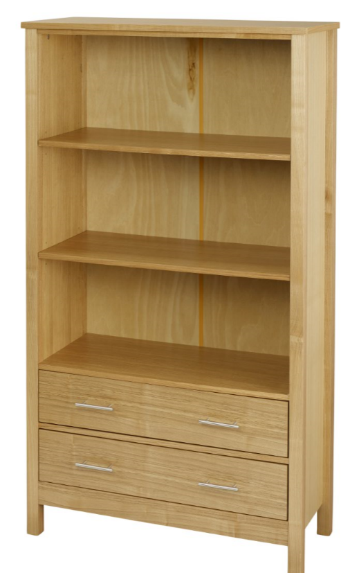 oakwood lpd tall bookcase