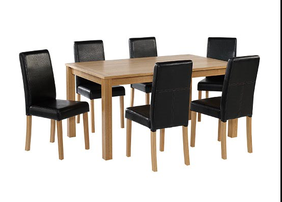 Terrific Oakridge Range Large Dining Table 6 Chairs Download Free Architecture Designs Intelgarnamadebymaigaardcom