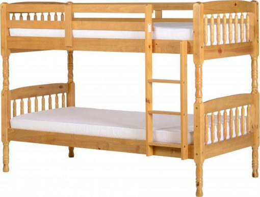 Albany 3′ Bunk Bed in Antique Pine 2