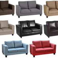 Tempo Two Seater Sofa in a box Seconique