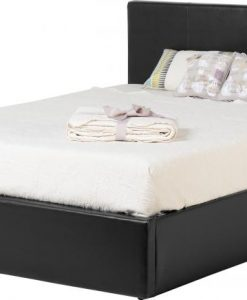 Seconique Waverley Ottoman Faux Leather Bed Frame
