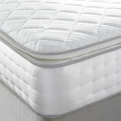 2000 pocket Stratford pillow top mattress with cool-blue foam