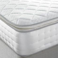 2000 pocket Stratford pillow top mattress with cool-blue foam