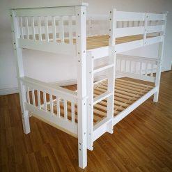 Dublin white bunks
